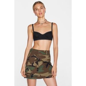 Nasty Gal After Party Camo Mini Skirt